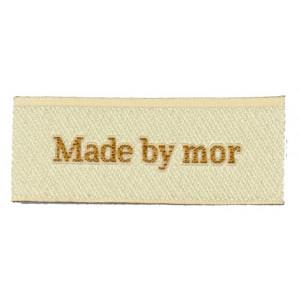Label Made by Mor Sandfärgad