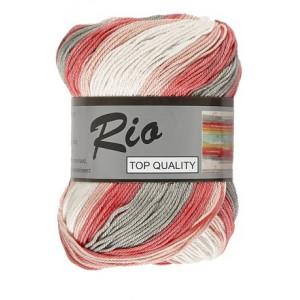 Lammy Rio Garn Long Print 903 Silverrosa 100 gram