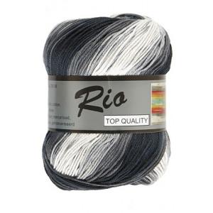 Lammy Rio Garn Long Print 909 Grus 100 gram