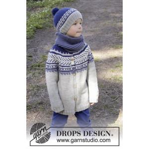 Little Adventure Jacket by DROPS Design - Jacka Stick-opskrift strl. 3