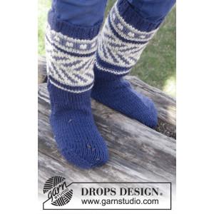 Little Adventure Socks by DROPS Design - Sockor Stick-opskrift strl. 2