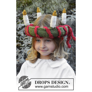 Little Lucia by DROPS Design - Luciakrona Virk-opskrift 63 cm