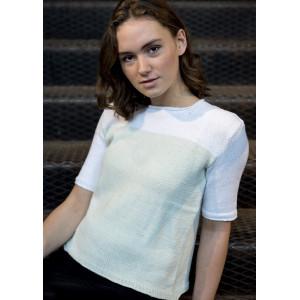 Mayflower Bomullströja med Fyrkantig Halsöppning - T-shirt Stick-opskr