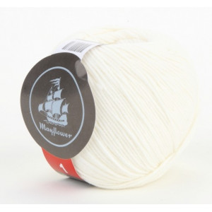 Mayflower Cotton 1 Garn Unicolor 121 Natur