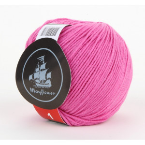 Mayflower Cotton 1 Garn Unicolor 126 Rosa