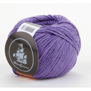 Mayflower Cotton 2 Garn Unicolor 225 Lila