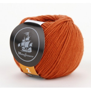 Mayflower Cotton 2 Garn Unicolor 229 Rost