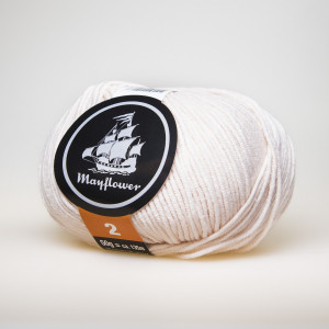 Mayflower Cotton 2 Garn Unicolor 249 Puder