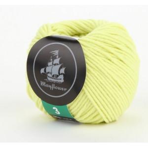 Mayflower Cotton 3 Garn Unicolor 328 Lime