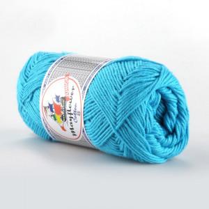 Mayflower Cotton 8/4 Junior Garn Unicolor 1424 Turkos