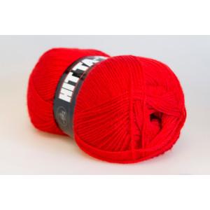 Mayflower Hit Ta-Too Garn Unicolor 07 Röd