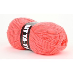 Mayflower Hit Ta-Too Garn Unicolor 102 Neon Korall
