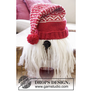 Merrier Christmas by DROPS Design - Vintomte Stickbeskrivning 2-3 L