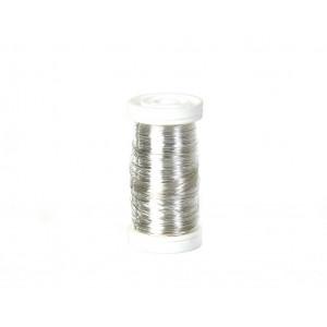 Myrtentråd / Blomtråd Silver  0