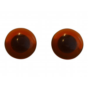 Nalleögon Bruna att sy fast 12 mm - 1 st.