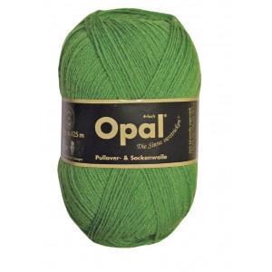 Opal Uni 4-trådigt Garn Unicolor 1990 Gräsgrön