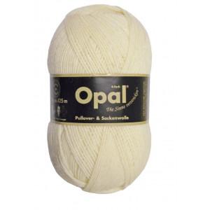 Opal Uni 4-trådigt Garn Unicolor 3081 Natur