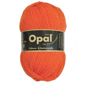 Opal Uni 4-trådigt Garn Unicolor 5181 Orange
