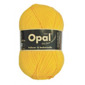 Opal Uni 4-trådigt Garn Unicolor 5182 Solgul
