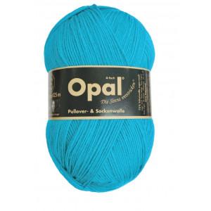 Opal Uni 4-trådigt Garn Unicolor 5183 Turkos