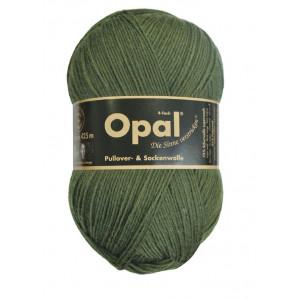 Opal Uni 4-trådigt Garn Unicolor 5184 Oliv