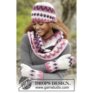 Pink Maze by DROPS Design - Mössa