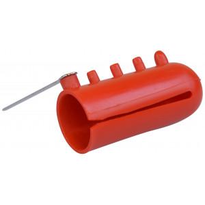 Pony Fingerborg för stickning / Garnfördelare till 4 garner i plast