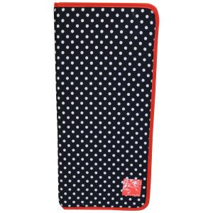 Prym Etui till Stickor Polka Dots Svart 20x43 cm