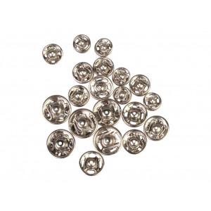 Prym Tryckknappar Silver 6-11mm 20 st.