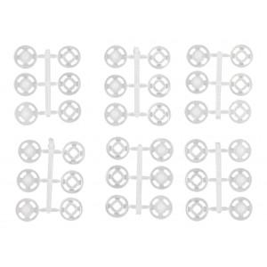 Prym Tryckknappar Transparent 10mm 18 st.