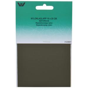 Reparationslapp Självhäftande Nylon Khaki 10x20 cm - 1 st.