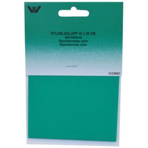 Reparationslapp Självhäftande Nylon Ljusgrön 10x20 cm - 1 st.