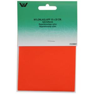 Reparationslapp Självhäftande Nylon Röd 10x20 cm - 1 st.