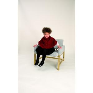 Rico Creative Glühwürmchen Mönster Poncho till barn