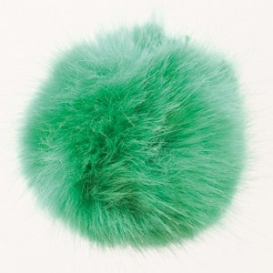 Rico Pompon Tofs Akryl Grön 10 cm