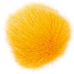 Rico Pompon Tofs Akryl Gul/Saffran 10 cm