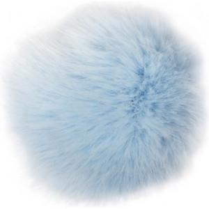 Rico Pompon Tofs Akryl Isblå 10 cm