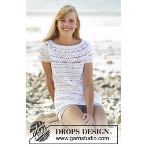 Seashore Bliss Topp by DROPS Design - Topp Virk-opskrift strl. S - XXX