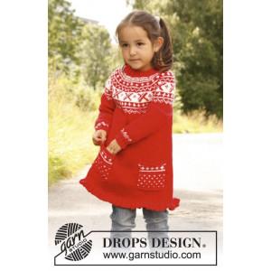 Selina by DROPS Design - Tunika Stick-opskrift strl. 3/4 år - 11/12 år