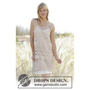 Summer Bliss by DROPS Design - Tunika Virk-opskrift strl. S - XXXL
