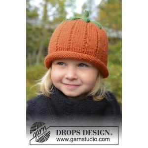 Sweet Pumpkin by DROPS Design - Mössa Stick-opskrift strl. 0/6 mdr - 7