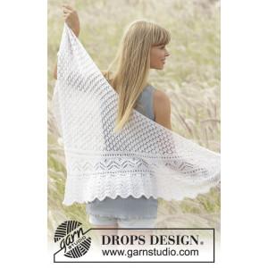 Tender Kiss by DROPS Design - Sjal Stick-mönster 200x60 cm