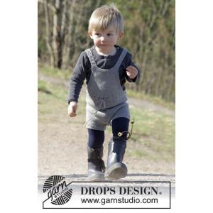 The Little Lumberjack by DROPS Design - Lekdräkt Stick-opskrift strl.