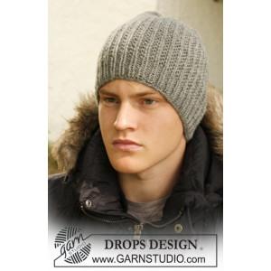 Tristan by DROPS Design - Mössa Stick-opskrift S/M - L