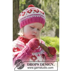 Warmhearted Hat by DROPS Design - Mössa Stick-opskrift str. 12/24 mdr
